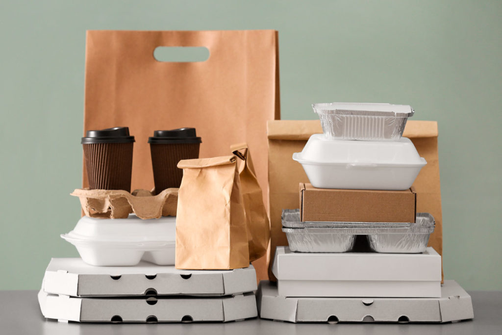 envases de cartón y PVC para hostelería